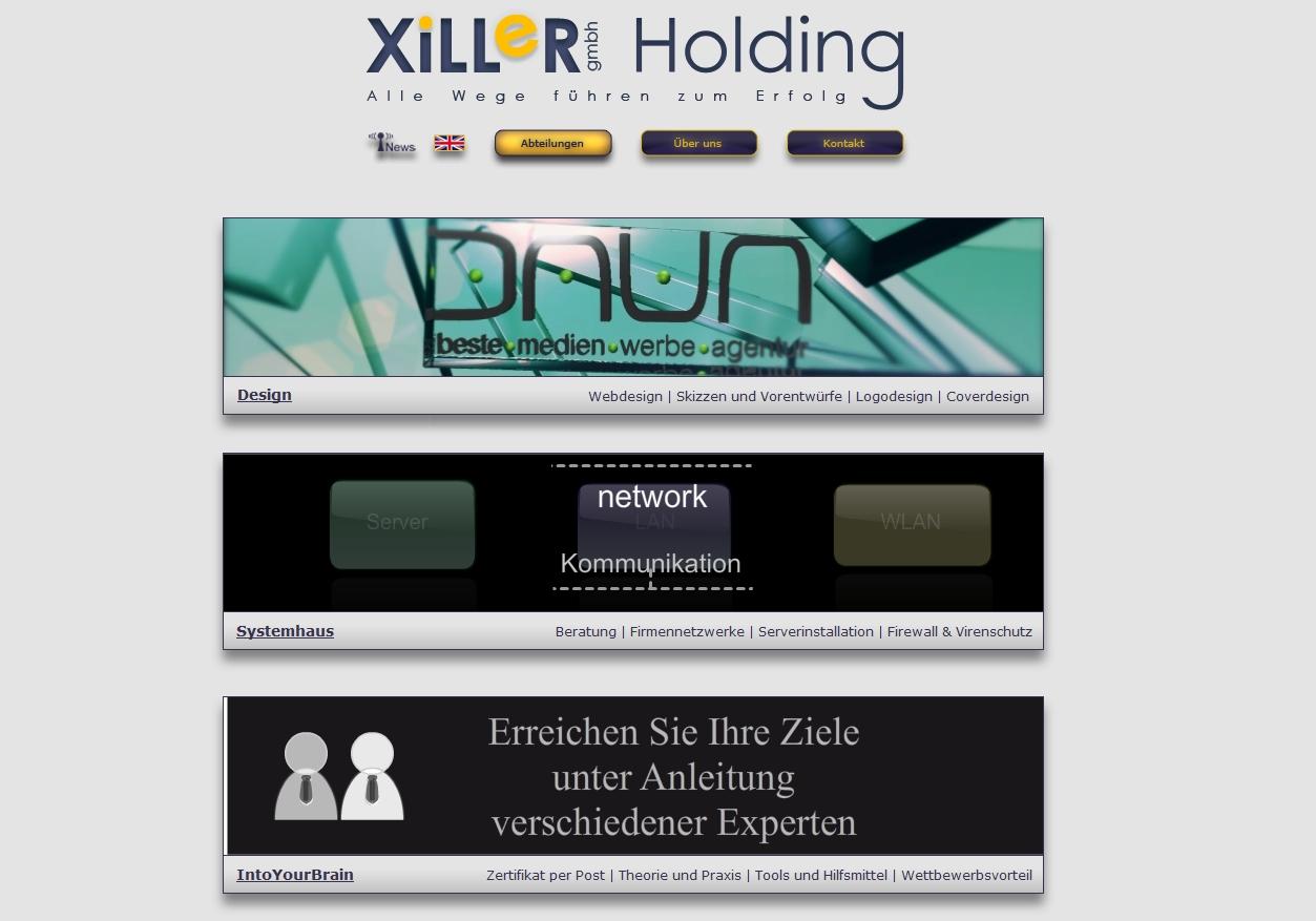 Die neue XiLLeR Homepage